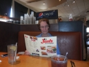 a trip to Jim's, one of our hangouts, for lunch