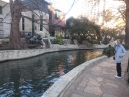 then on to the Riverwalk before dinner
