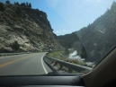 driving on SR 119 in Clear Creek Canyon up towards Black Hawk CO, a casino town