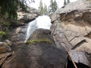 the top of Ouzel Falls
