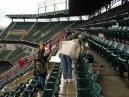 Arlington Stadium, upper deck