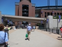 now onto Big League baseball at Coors Field in Denver
