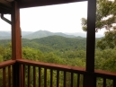 View from deck off master bedroom.
