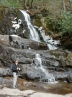 Hike 1 - Laurel Falls: water and ice at the falls