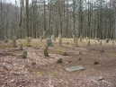 the Sugarlands settlement cemetery; oldest stone that was legible was for someone born in 1824 and died in 1910