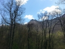 OK, after the hike on the way back down Newfound Gap Road to town, thought a shot of the fire denuded Chimney Tops would be good, especially in spring