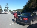 The second sunny day - the Saturday challenge - Clingman's Dome downhill to Fork Ridge