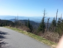 a clear day up on the Dome - highest point on the Appalachian Trail and only 20' lower than Mt. Mitchell the highest in the Appalachian range