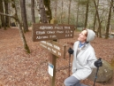 Clowning at the Abrams Falls trailhead on Thursday