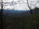 the ridge that carries the Appalachian Trail to our south